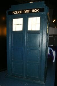the tardis, doctor who, television
